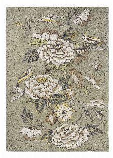 Bild: Wedgwood Designer Teppich Paeonia (Taupe; 200 x 280 cm)