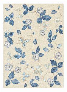 Bild: Wedgwood Designer Teppich Wild Strawberry (Creme; 120 x 180 cm)