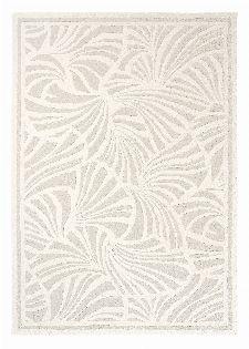 Bild: Florence Broadhurst Designerteppich Japanese Fans (Ivory; 120 x 180 cm)