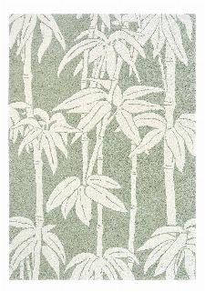 Bild: Florence Broadhurst Designerteppich Japanese Bamboo (Jade; 170 x 240 cm)