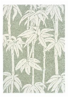 Bild: Florence Broadhurst Designerteppich Japanese Bamboo (Jade; 250 x 350 cm)