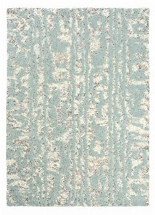 Bild: Florence Broadhurst Designerteppich Waterwave Stripe (Blau; 120 x 180 cm)
