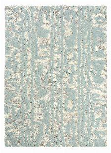 Bild: Florence Broadhurst Designerteppich Waterwave Stripe (Blau; 250 x 350 cm)
