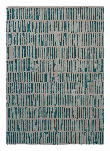 Bild: Harlequin Schurwollteppich Skintilla 41707 (Kingfisher; 140 x 200 cm)