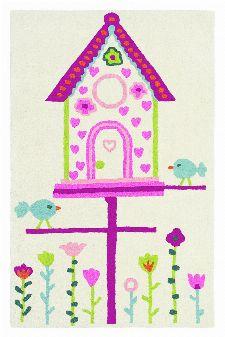 Bild: Teppich Home Tweet Home (90 x 140 cm)