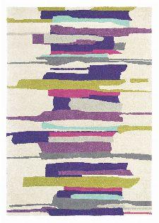 Bild: Teppich Zeal (Lila; 140 x 200 cm)