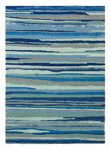 Bild: Sanderson Schurwollteppich Elsdon 44008 (Mineral; 250 x 350 cm)