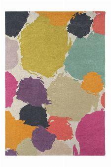 Bild: Wollteppich Paletto (Lila; 140 x 200 cm)