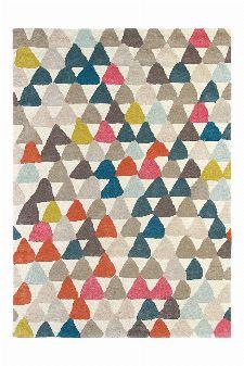 Bild: Teppich Lulu (Rot; 140 x 200 cm)