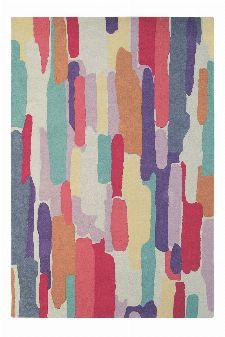 Bild: Wollteppich Trattino (Bunt; 140 x 200 cm)