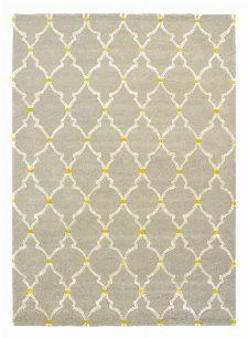 Bild: Sanderson Kurzflorteppich Empire Trellis 45501 (Stone; 200 x 280 cm)