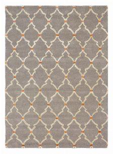 Bild: Sanderson Kurzflorteppich Empire Trellis 45504 (Slate; 170 x 240 cm)