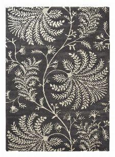 Bild: Sanderson Kurzflorteppich Mapperton 45905 (Graphite; 250 x 350 cm)