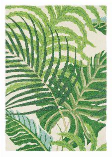 Bild: Teppich Manila (Grün; 140 x 200 cm)