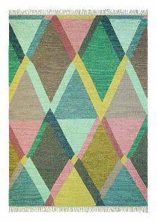 Bild: Teppich Kashba jewel (Bunt/Rosa; 250 x 350 cm)