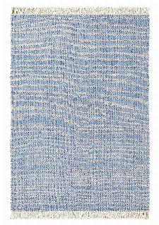 Bild: Designer Flachgewebe Teppich Atelier Craft (Blau; 140 x 200 cm)
