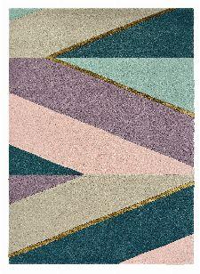 Bild: Ted Baker Schurwoll Teppich Sahara (Pink; 170 x 240 cm)