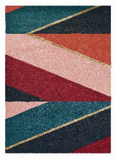 Bild: Ted Baker Schurwoll Teppich Sahara (Burgund; 170 x 240 cm)