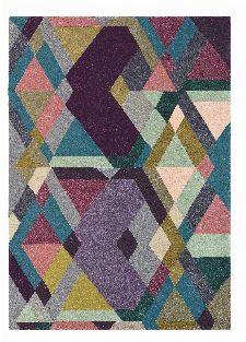 Bild: Ted Baker Design Teppich Mosaic (Bunt/Lila; 170 x 240 cm)