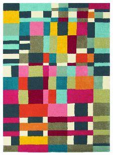Bild: Teppich Estella Domino (Bunt; 140 x 200 cm)