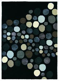 Bild: Teppich Estella Carnaval (Schwarz; 200 x 280 cm)