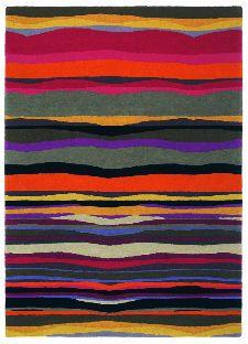 Bild: Teppich Estella Summer (Orange; 140 x 200 cm)