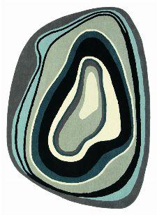 Bild: Schurwollteppich Estella Slice 877304 (Schwarz; wishsize)