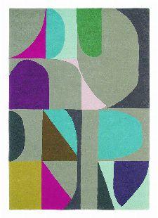 Bild: Teppich Estella Harmony (Bunt/Grau; 160 x 230 cm)