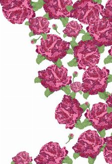 Bild: P0103034 Rose garden 180*265
