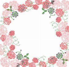 Bild: P0104016 Stiched roses 270*265