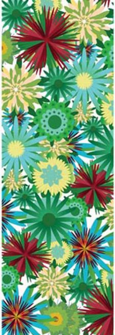 Bild: P0312022 Flower power 90*265