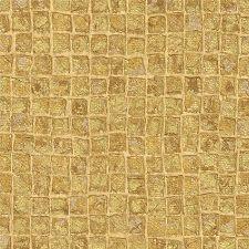 Bild: design id elegante Vliestapete Alpha AL1001-5 - Mosaikoptik (Gold)