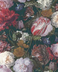 Bild: Eijffinger Vliestapete Masterpiece 358002 - Blumen Gemälde (Grün)