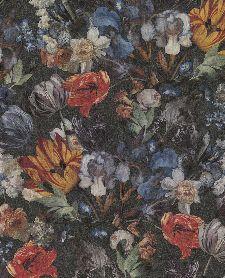 Bild: Eijffinger Vliestapete Masterpiece 358010 - Blumen Stillleben (Schwarz)