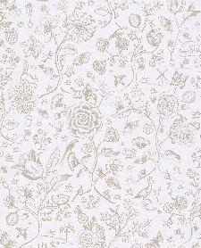 Bild: Eijffinger Tapete PIP 4 375010 - Spring to Life Two Tone (Weiß)