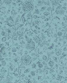 Bild: Eijffinger Tapete PIP 4 375012 - Spring to Life Two Tone (Blau)