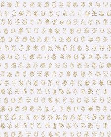 Bild: Eijffinger Tapete PIP 4 375030 - Lady Bug (Weiß)