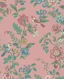 Bild: Eijffinger Tapete PIP 4 375063 - Botanical Print (Rosa)