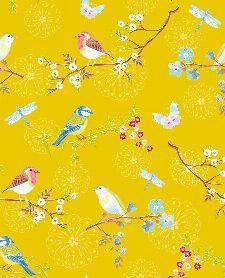 Bild: Eijffinger Tapete PIP 4 375083 - Early Bird (Gelb)