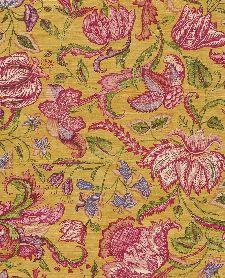 Bild: Eijffinger Sundari Vliestapete 375103 - Exotische Blumen (Gelb)