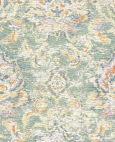 Bild: Eijffinger Sundari Vliestapete 375110 - Ornament Optik (Pastellgrün)