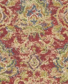 Bild: Eijffinger Sundari Vliestapete 375112 - Ornament Optik (Rot)