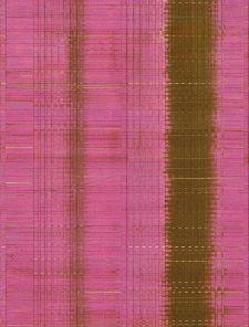 Bild: Eijffinger Tapeten Panel Sundari 375202 - Wave (Fuchsia)