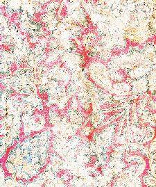 Bild: Eijffinger Fototapete Sundari 375211 - Faded Wall (Rot; 280 x 233 cm)