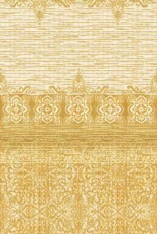Bild: Eijffinger Tapeten Panel Sundari 375215 - Taj (Gelb; 280 x 186 cm)