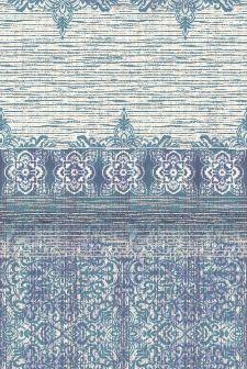 Bild: Eijffinger Tapeten Panel Sundari 375216 - Taj (Blau; 280 x 186 cm)
