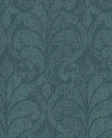 Bild: Eijffinger Vliestapete Siroc 376003 - Blätter Motiv (Blau)