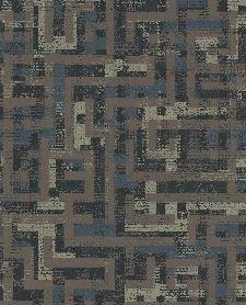 Bild: Eijffinger Vliestapete Siroc 376013 - Rechteckmuster (Braun)