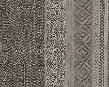 Bild: Eijffinger Vliestapete Siroc 376023 - Streifen (Schwarz/Weiß)
