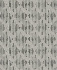 Bild: Eijffinger Vliestapete Siroc 376033 - Karostreifen (Grau)